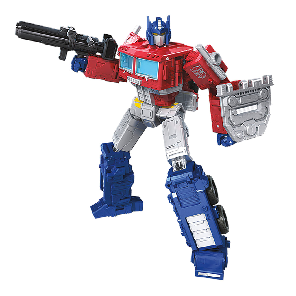 Transformers Generations War for Cybertron Earthrise Leader WFC-E11 Optimus Prime Robot Mode