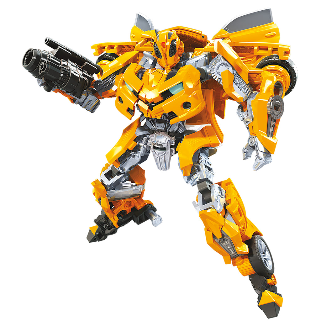 Transformers Studio Series Deluxe Class Movie 1 Bumblebee Action Figure Robot Mode