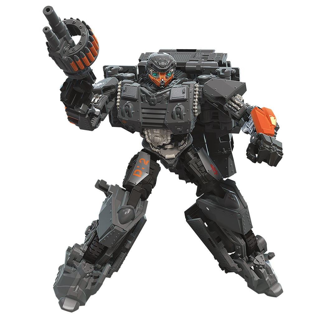 Transformers Studio Series Deluxe Class WWII Autobot Hot Rod Action Figure Robot Mode