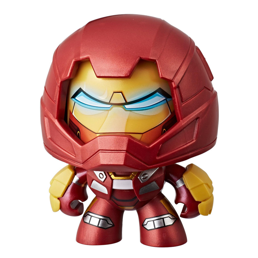 Marvel Mighty Muggs Hulkbuster #18 3.75-inch collectible figure with display case package
