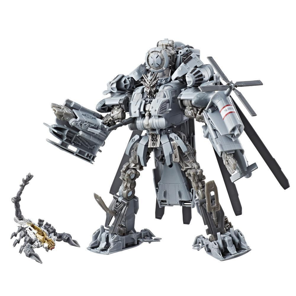 Transformers Studio Series 08 Leader Class Movie 1 Decepticon Blackout Figure Robot Mode