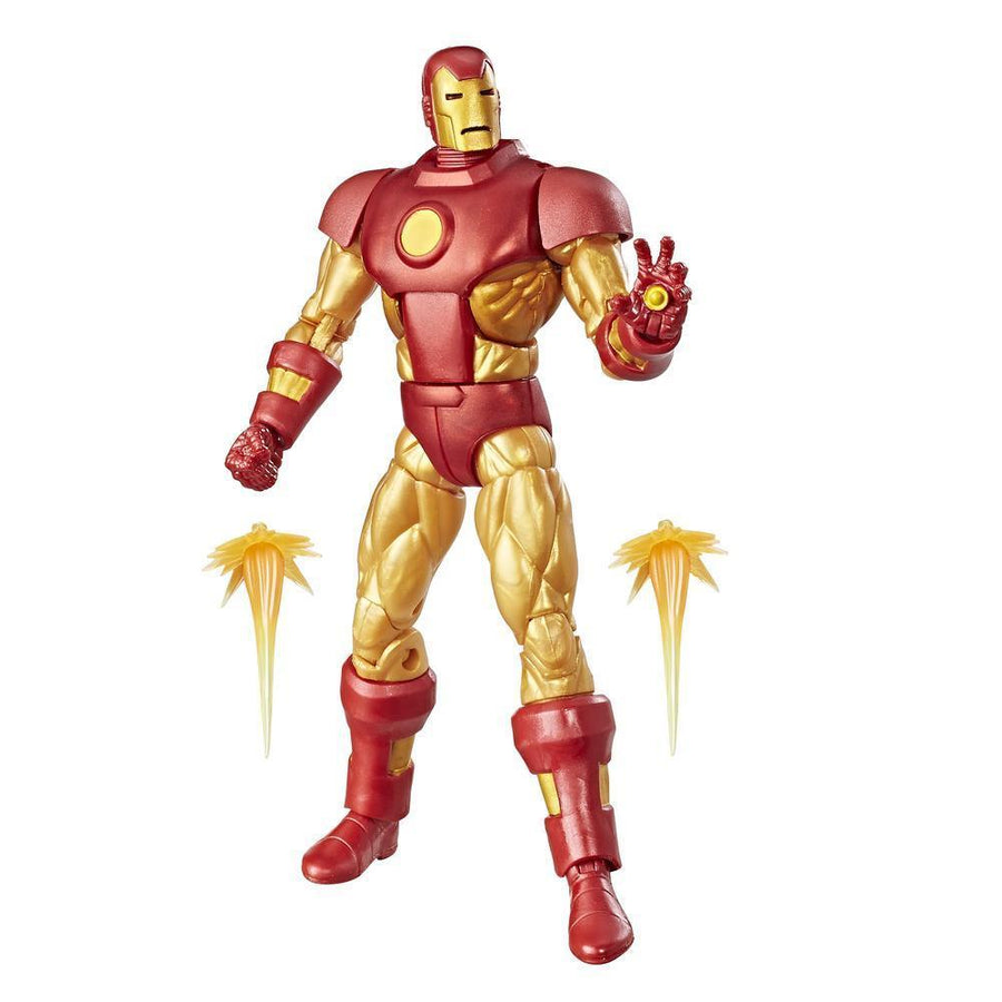 Marvel Retro Collection Iron Man Figure With Accessories