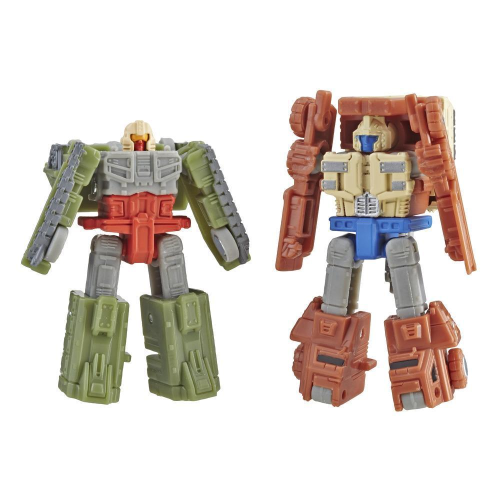 Transformers Generations War for Cybertron: Siege Micromaster WFC-S6 Autobot Battle Patrol Figures Robot Mode