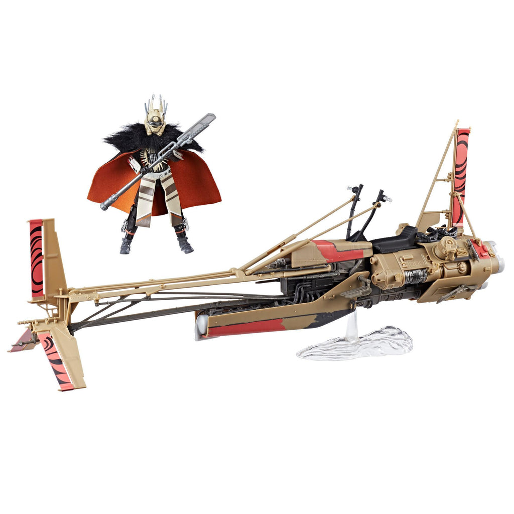 Star Wars The Black Series Enfys Nest 6-inch Figure & Enfys Nest's Swoop Bike