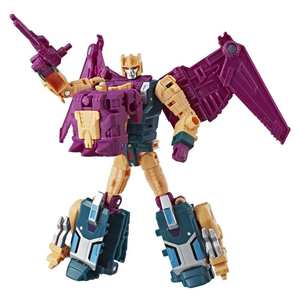 Transformers Generations Power of the Primes Deluxe Terrorcon Cutthroat Figure Robot Mode