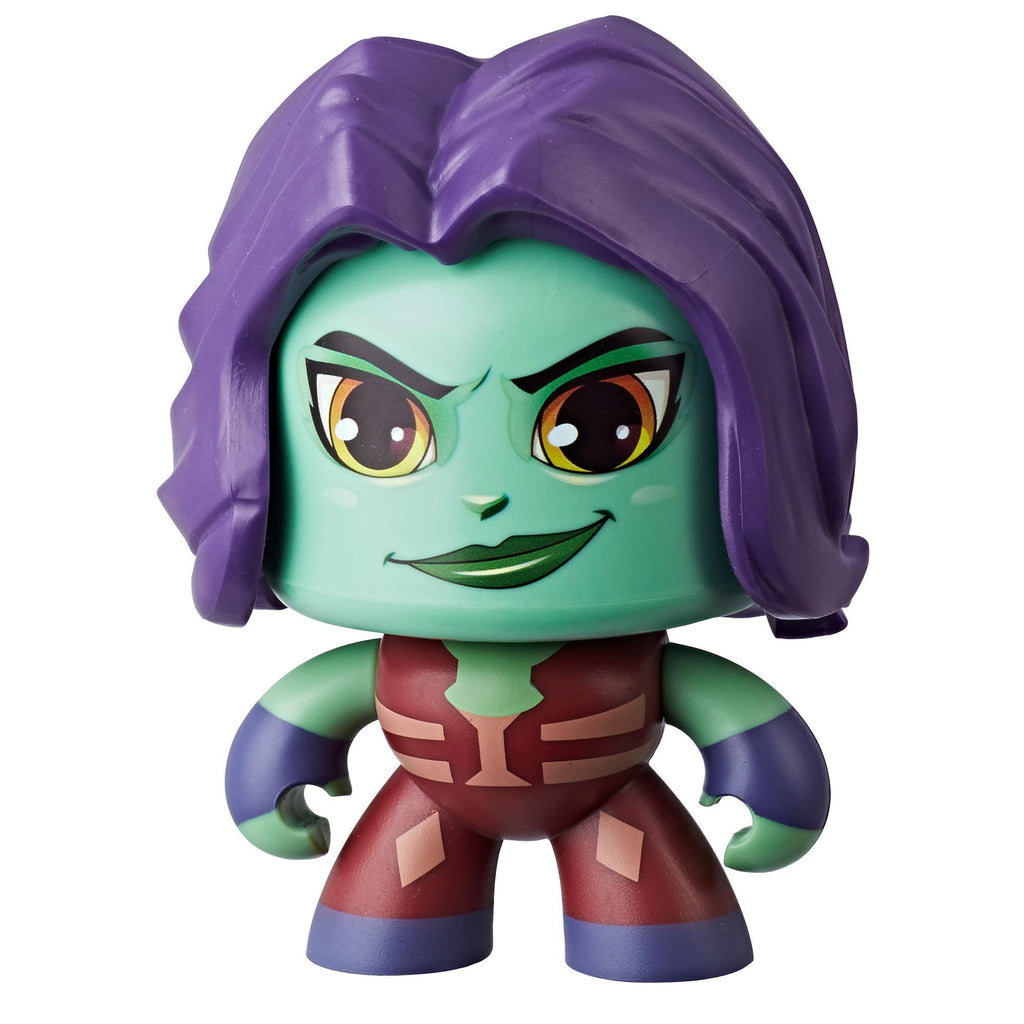 Marvel Mighty Muggs Gamora #20 3.75-inch collectible figure with display case package