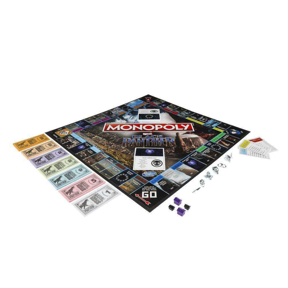 Monopoly Black Panther Edition Board Game