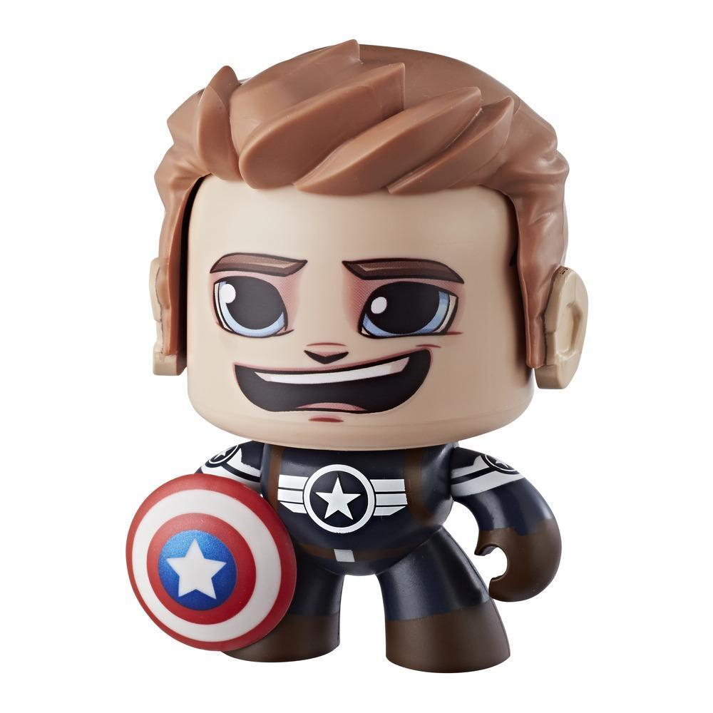 Marvel Mighty Muggs Captain America #10 3.75-inch collectible figure with display case package