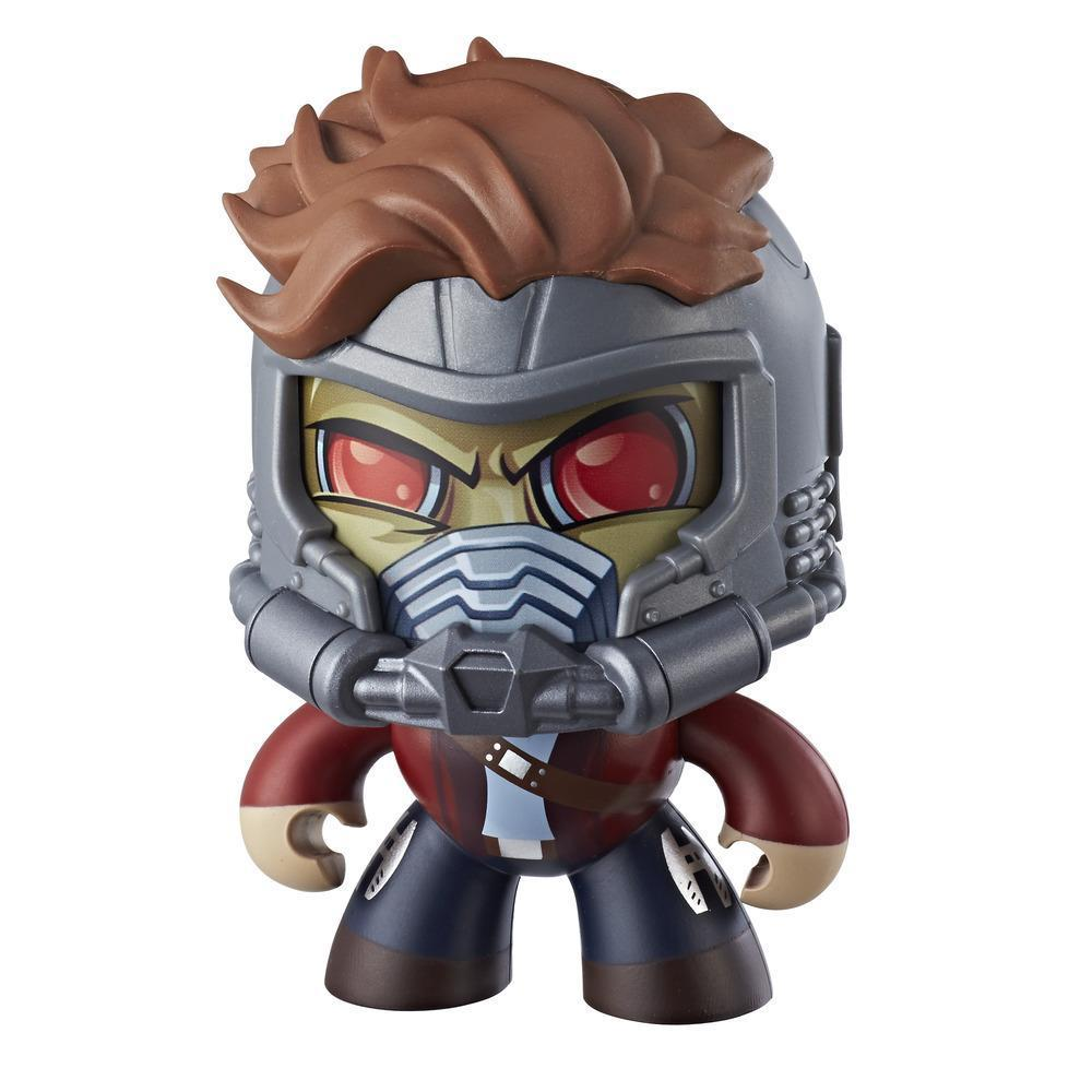 Marvel Mighty Muggs Star-Lord #14 3.75-inch collectible figure with display case package