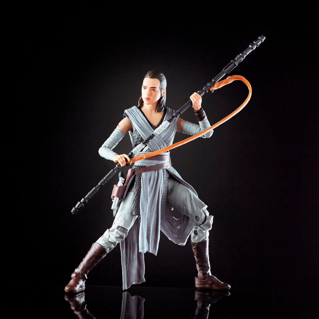 "The Black Series 6/"" Jedi Training Star Wars - Rey"