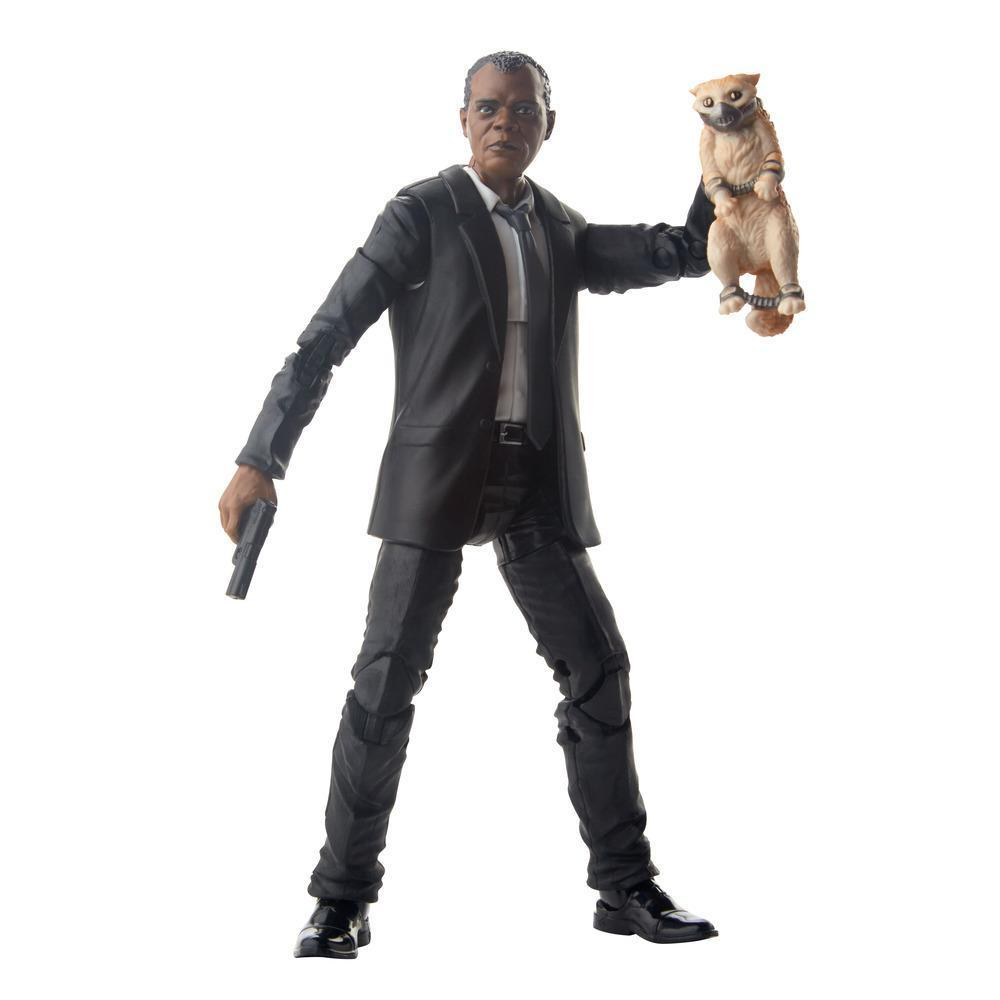 Marvel Legends Series Captain Marvel Nick Fury Figure with Accessory