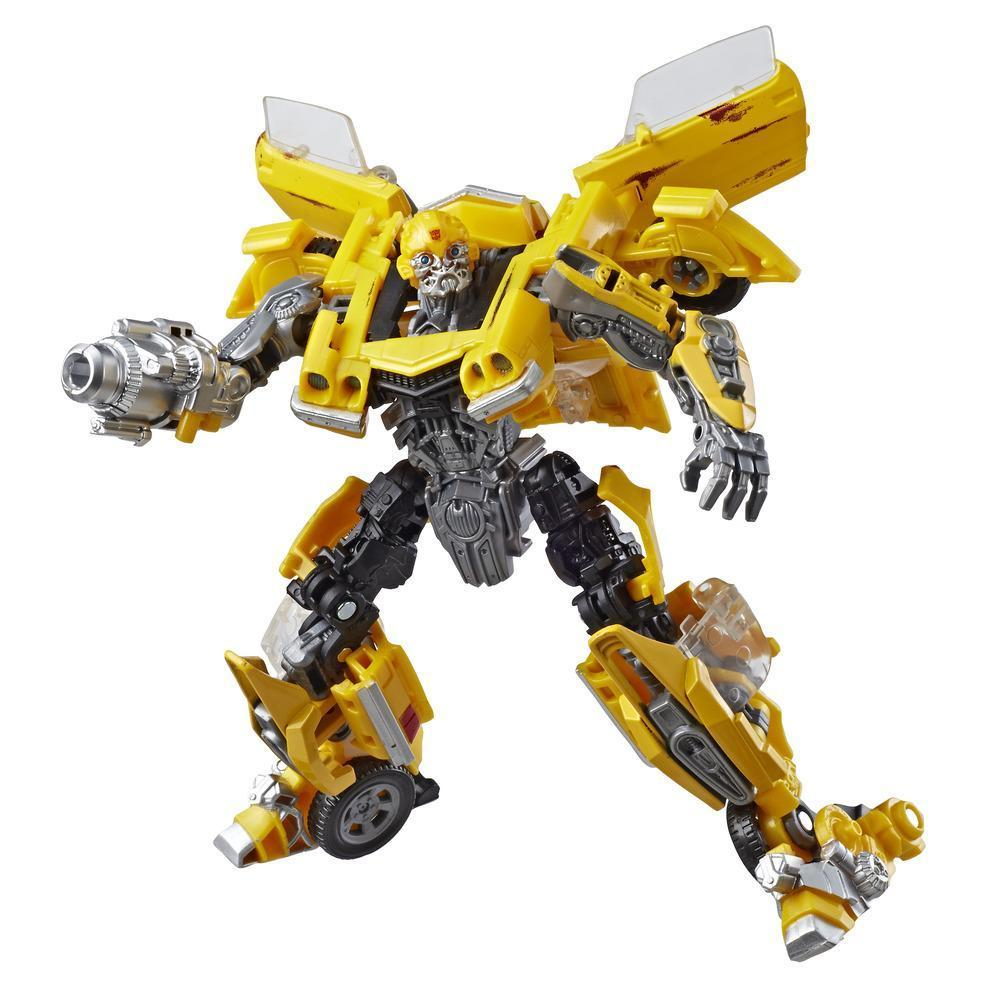 Transformers Studio Series 27 Deluxe Class Transformers Movie 1 Clunker Bumblebee Action Figure Robot Mode
