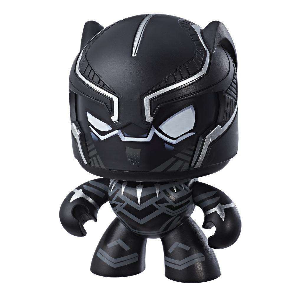 Marvel Mighty Muggs Black Panther #7 3.75-inch collectible figure with display case package