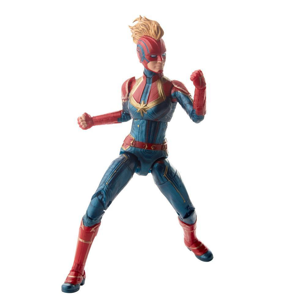 Marvel Legends Series Captain Marvel in Costume Figure