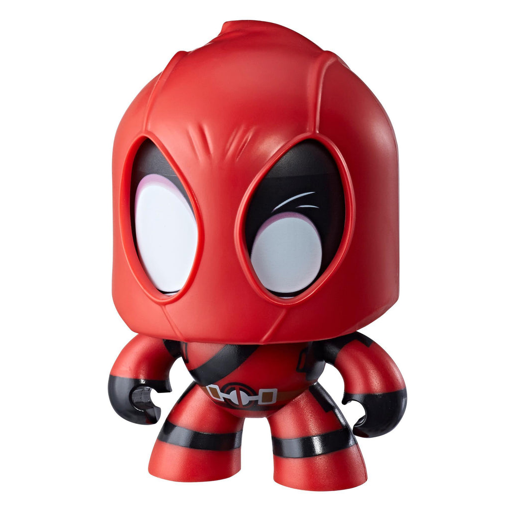 Marvel Mighty Muggs Deadpool #6 3.75-inch collectible figure with display case package