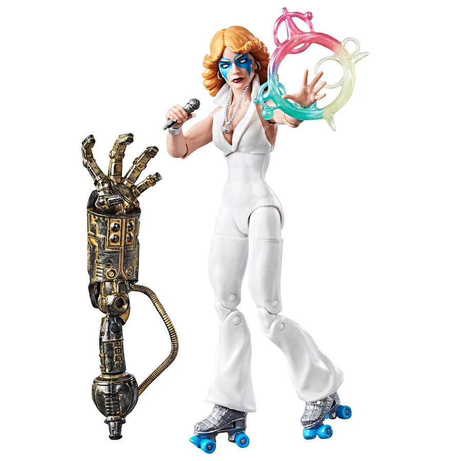 Marvel X-Men 6-Inch Legends Series Dazzler Figure With Accessories and Build-A-Figure Part