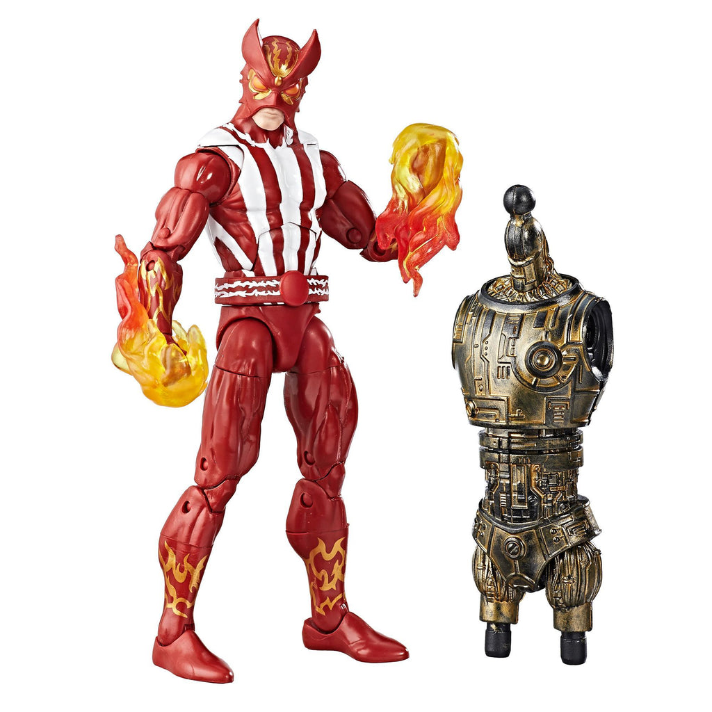 Marvel Legends Series X-Men Sunfire Figure With Accessories and Build-A-Figure Part