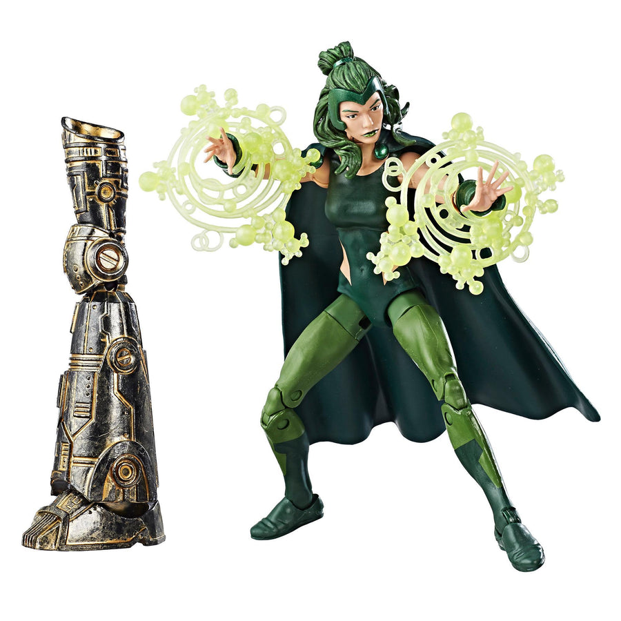 Marvel Legends Series X-Men Polaris Figure With Accessories and Build-A-Figure Part