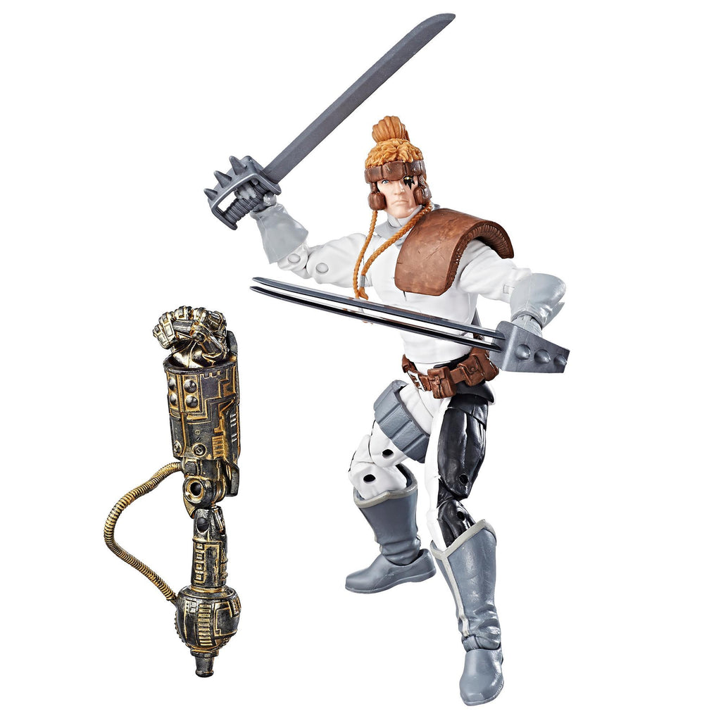 Marvel X-Men Legends Series Shatterstar Figure With Accessories and Build-A-Figure Part