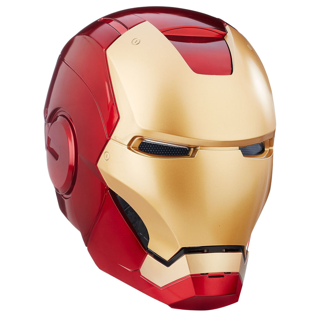 Marvel Legends Iron Man Electronic Helmet Front Closed