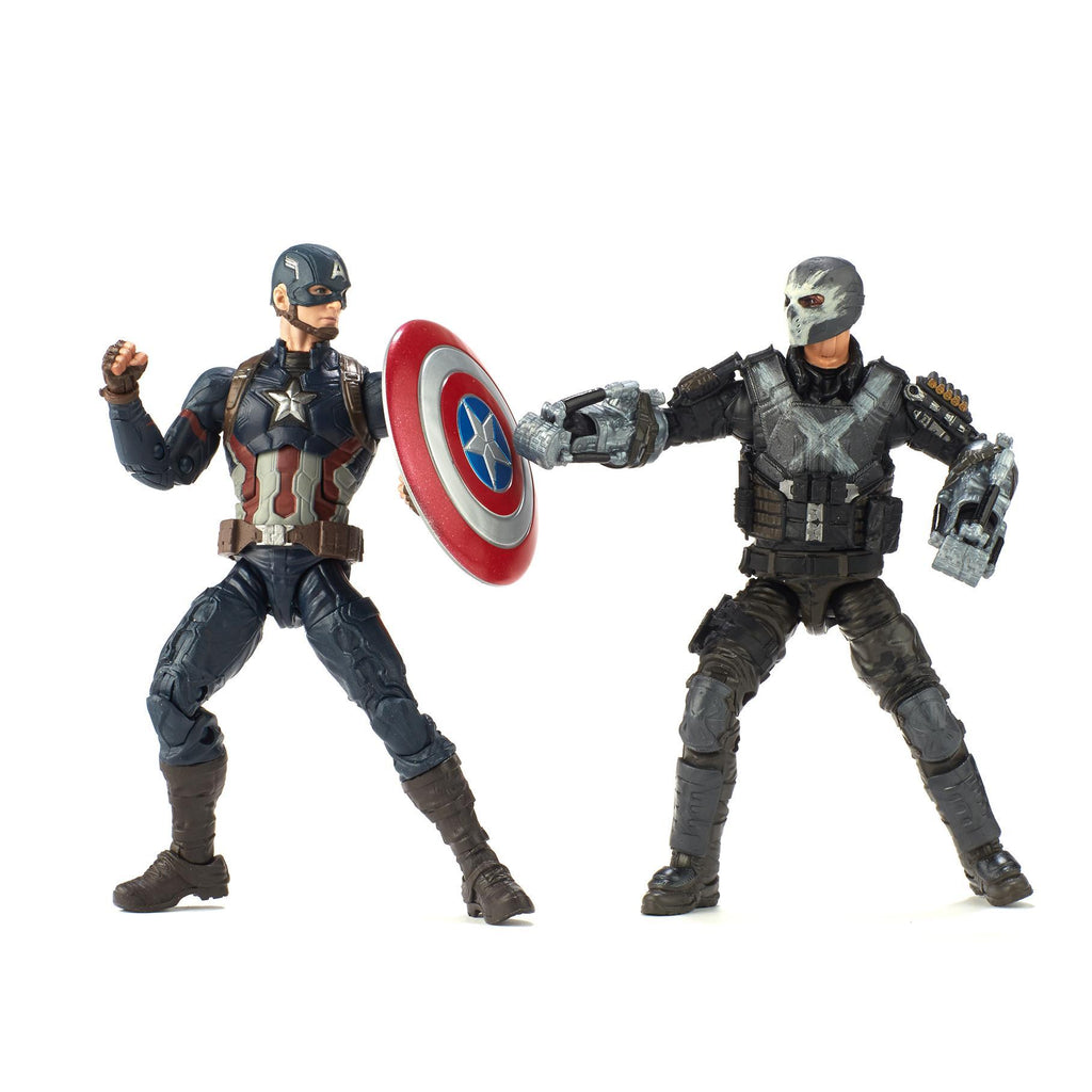 Marvel Studios: The First Ten Years Captain America: Civil War Captain America and Crossbones Figures