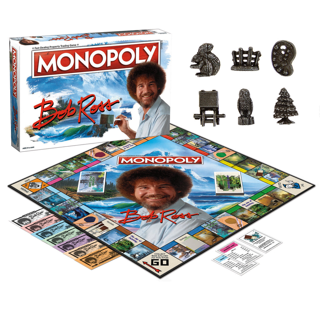 MONOPOLY Bob Ross® Edition Game
