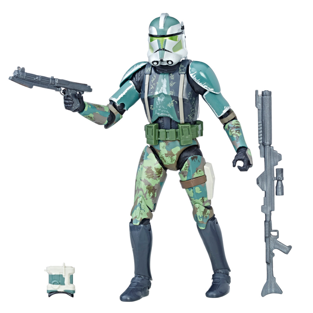 Star Wars The Black Series Clone Commander Gree Figure With Accessories