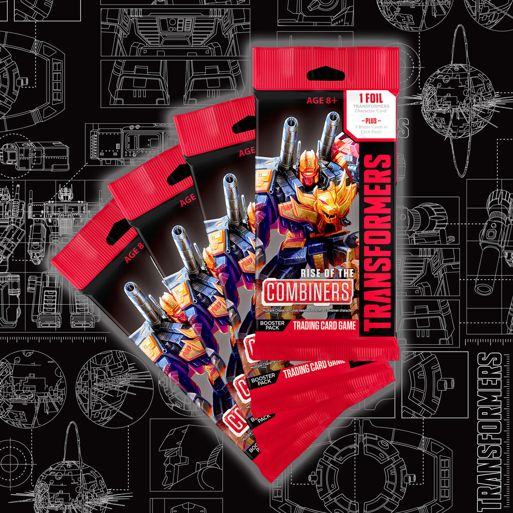 Transformers Rise of the Combiners Booster 5 Pack