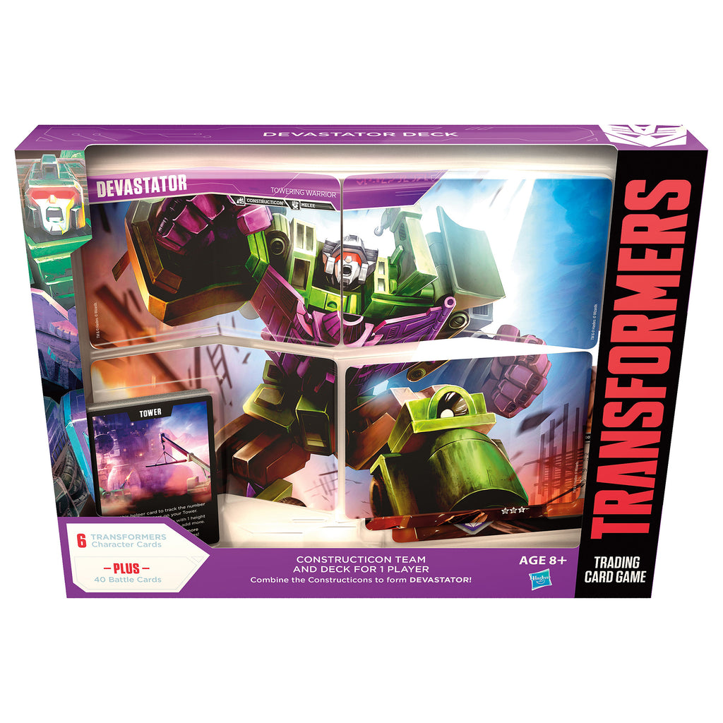 Transformers Devastator Deck Packaging