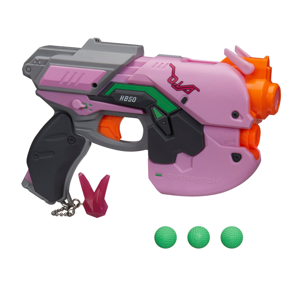 Nerf Rival Overwatch D.Va Blaster and Rounds
