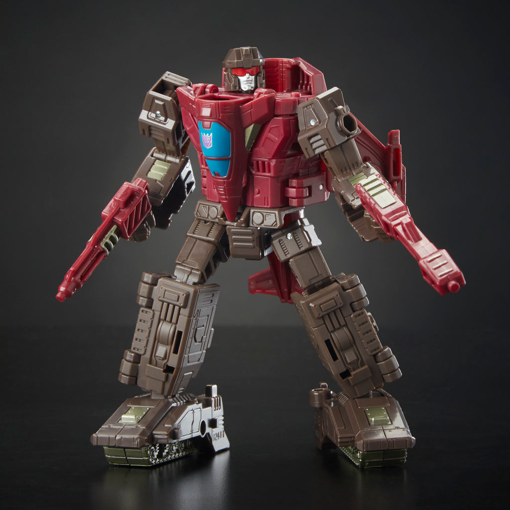 Transformers Generations War for Cybertron: Siege Deluxe Class WFC-S7 Skytread Figure Bot Mode