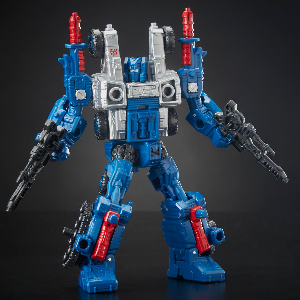 Transformers Generations War for Cybertron: Siege Deluxe Class WFC-S8 Cog Weaponizer Figure