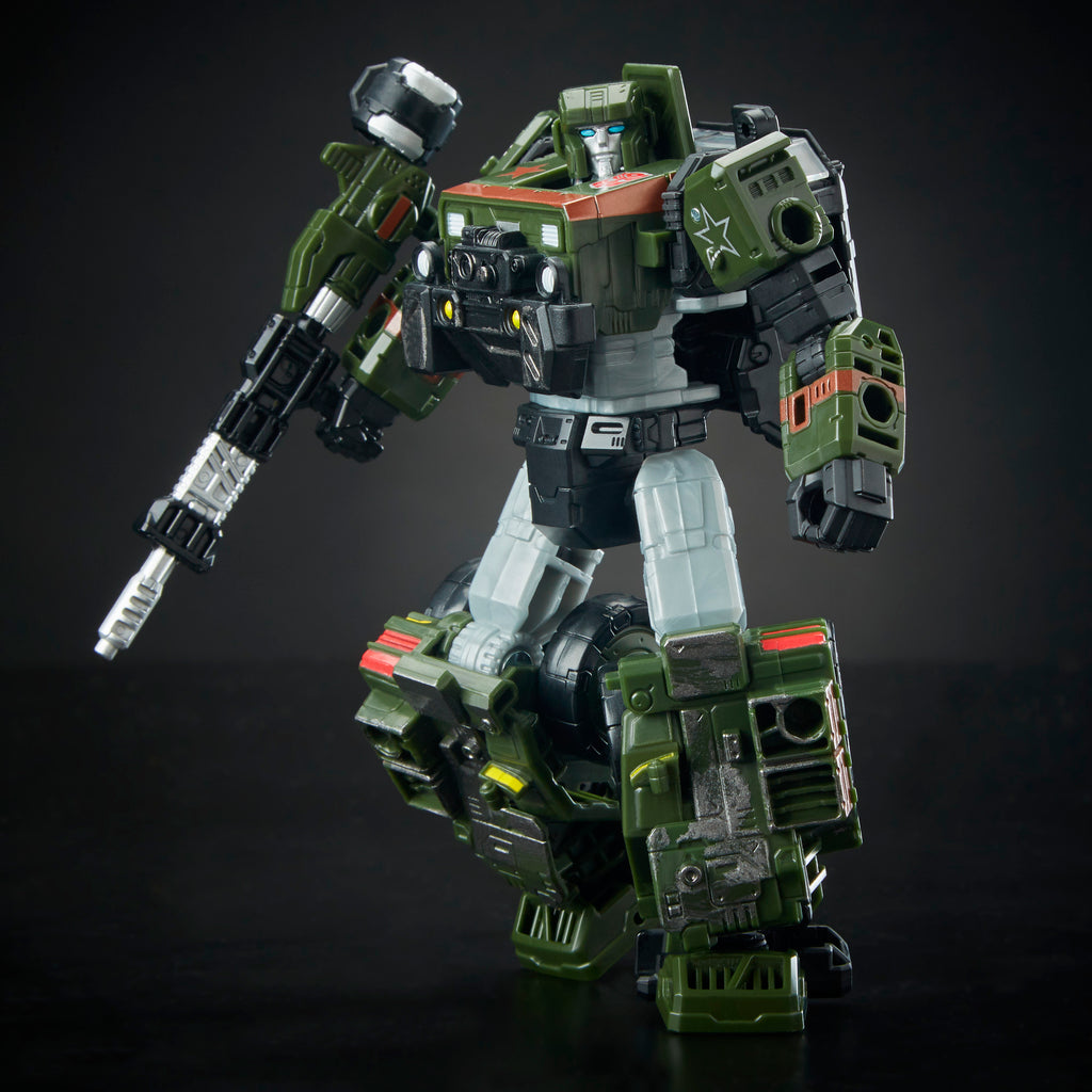 Transformers Generations War for Cybertron: Siege Deluxe Class WFC-S9 Autobot Hound Figure Robot Mode