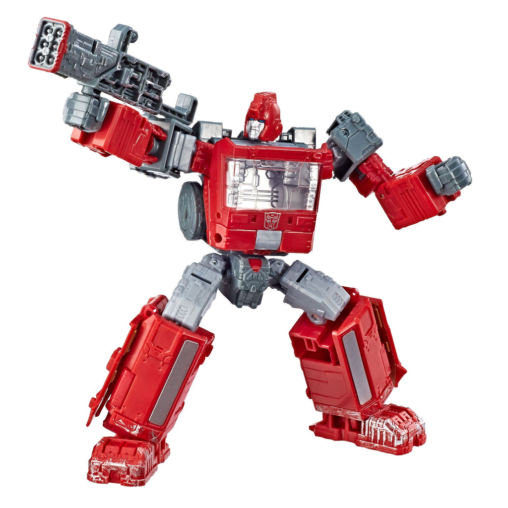 Transformers Generations War for Cybertron Deluxe WFC-S21 Ironhide Figure Robot Mode