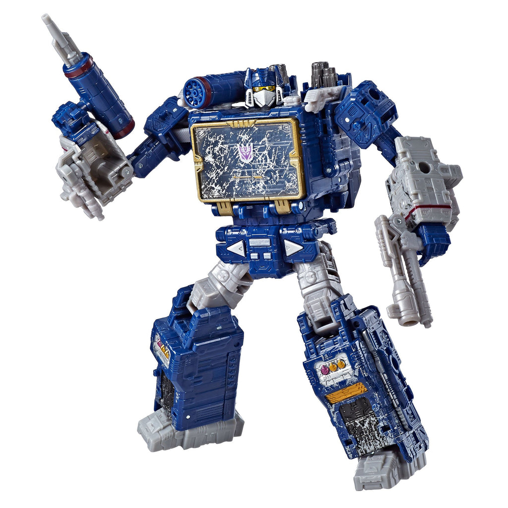 Transformers Generations War for Cybertron Voyager WFC-S25 Soundwave Figure Robot Mode