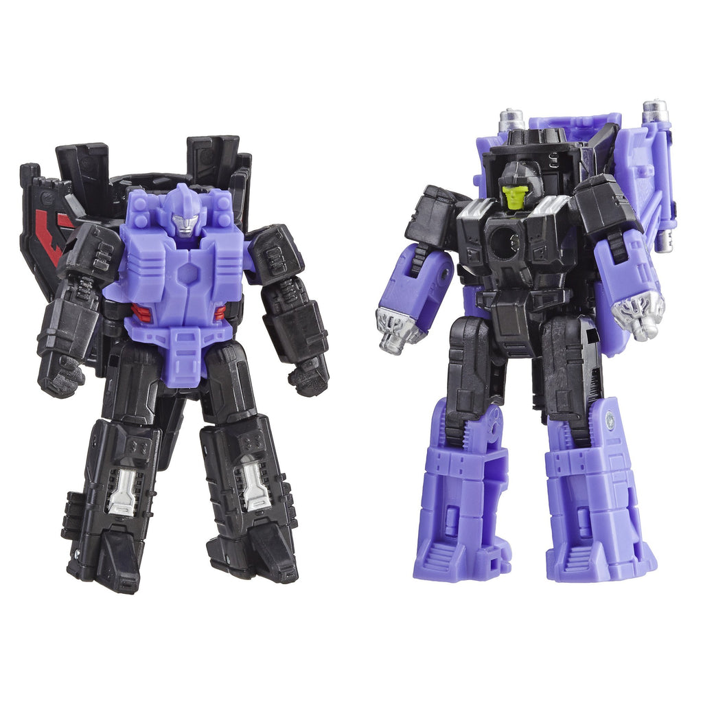 Transformers Generations War for Cybertron: Siege Micromaster WFC-S5 Decepticon Air Strike Patrol 2-pack Figures Robot Mode