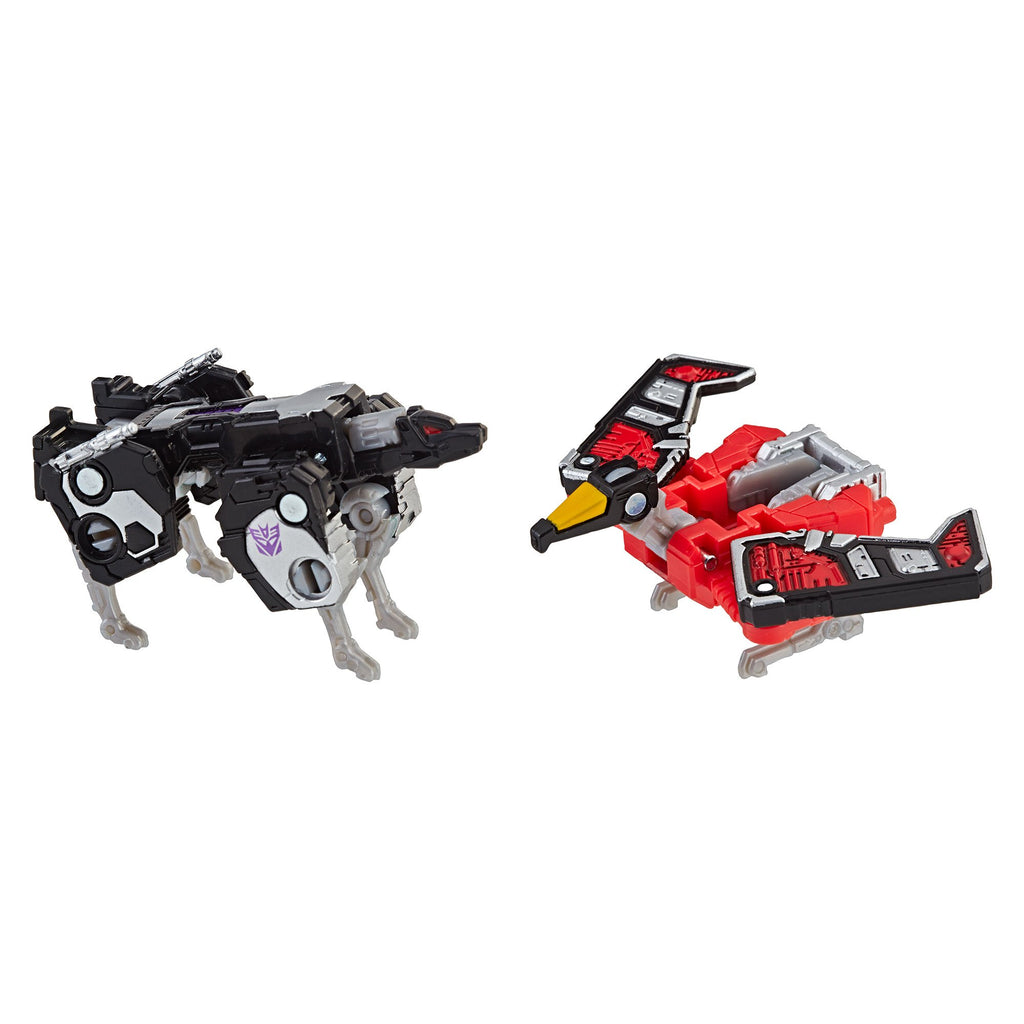 Transformers Generations War for Cybertron: Siege Micromaster WFC-S18 Soundwave Spy Patrol Figures Beast Mode