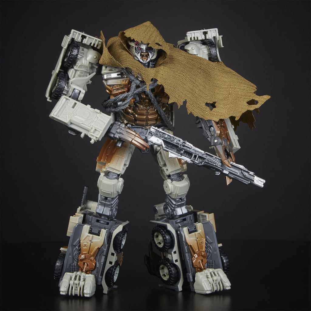 Transformers Studio Series 34 Leader Class: Dark of the Moon Movie Megatron with Igor Figure Robot Mode