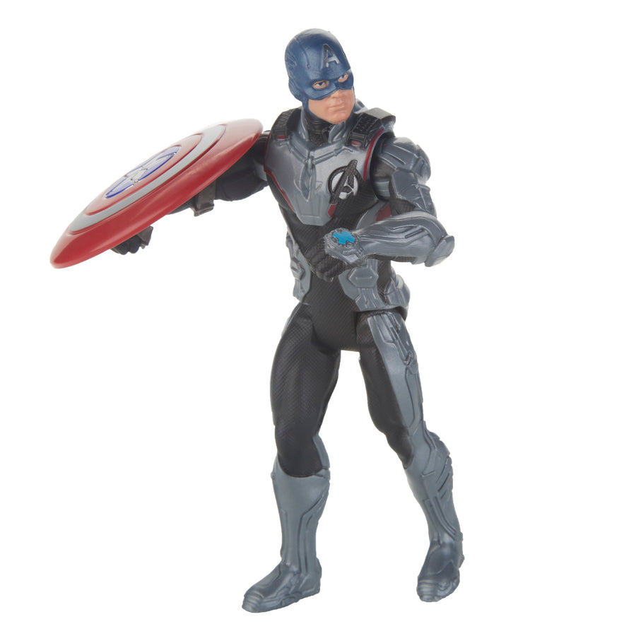 Marvel Avengers: Endgame Team Suit Captain America Figure