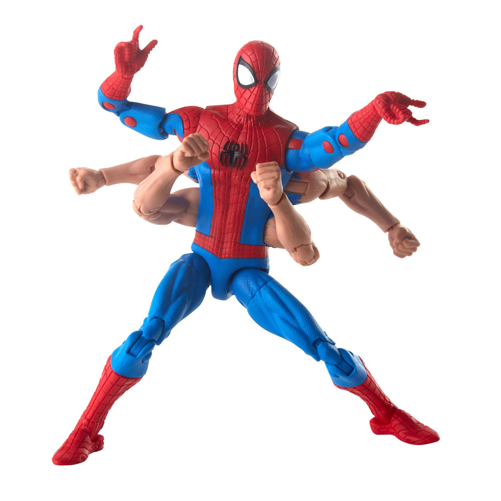 Spider-Man Marvel Legends Series Six-Arm Spider-Man Figure