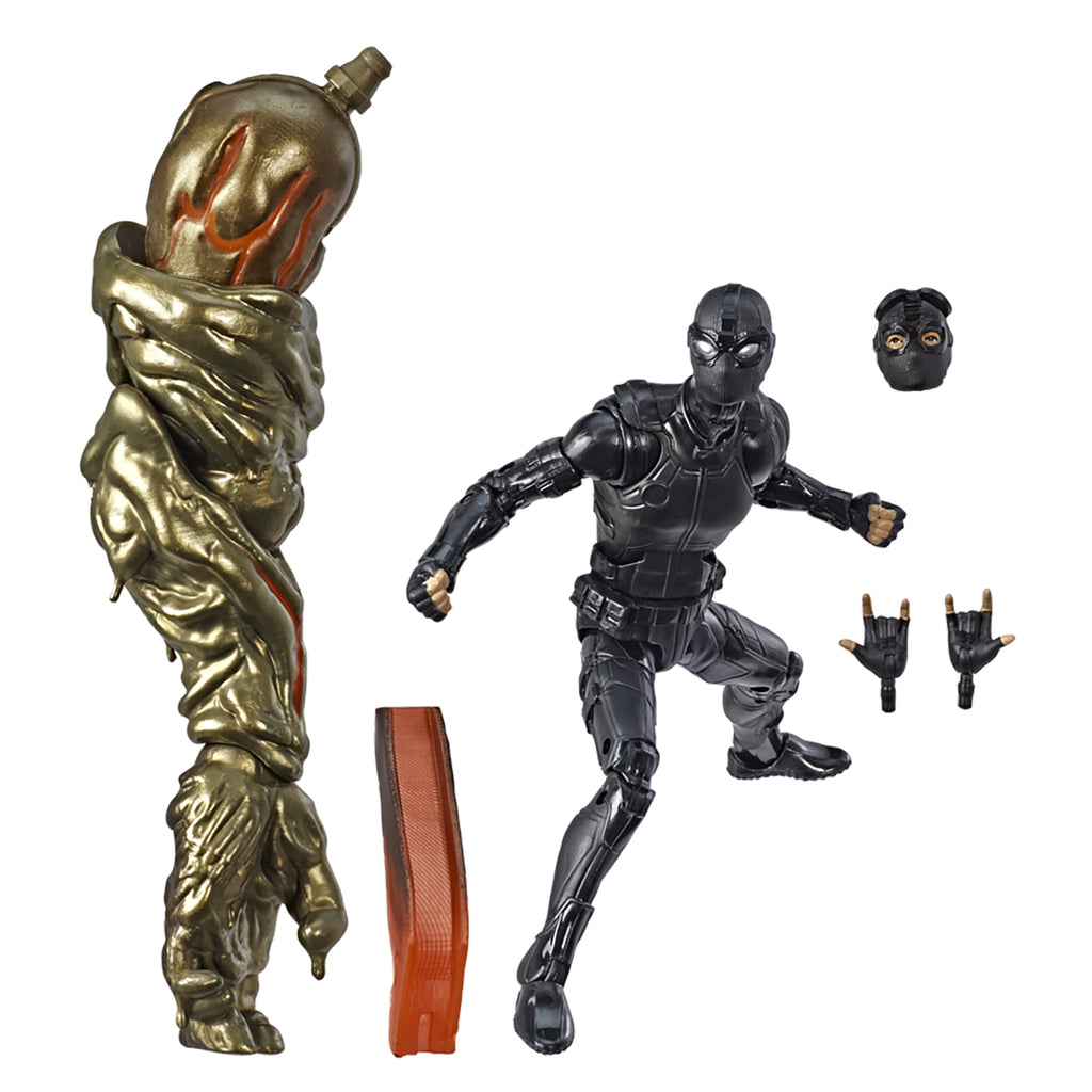 Marvel Legends Series Spider-Man: Far from Home Spider-Man (Stealth Suit) Figure Accessories