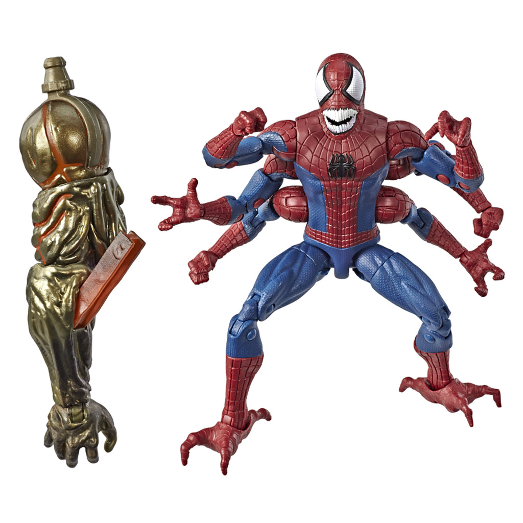 Marvel Legends Series Demogoblin Spider-Man Figure Accessories