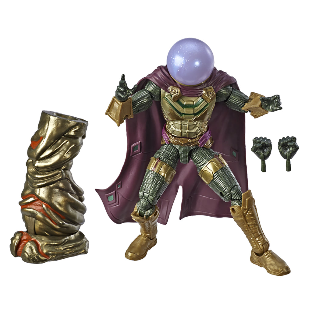 Marve; Legends Series Spider-Man: Far from Home Mysterio Figure and Accessories