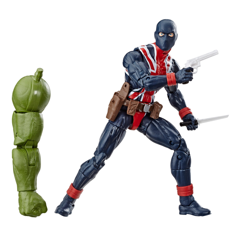 Marvel Legends Series Union Jack Figure and Accessories