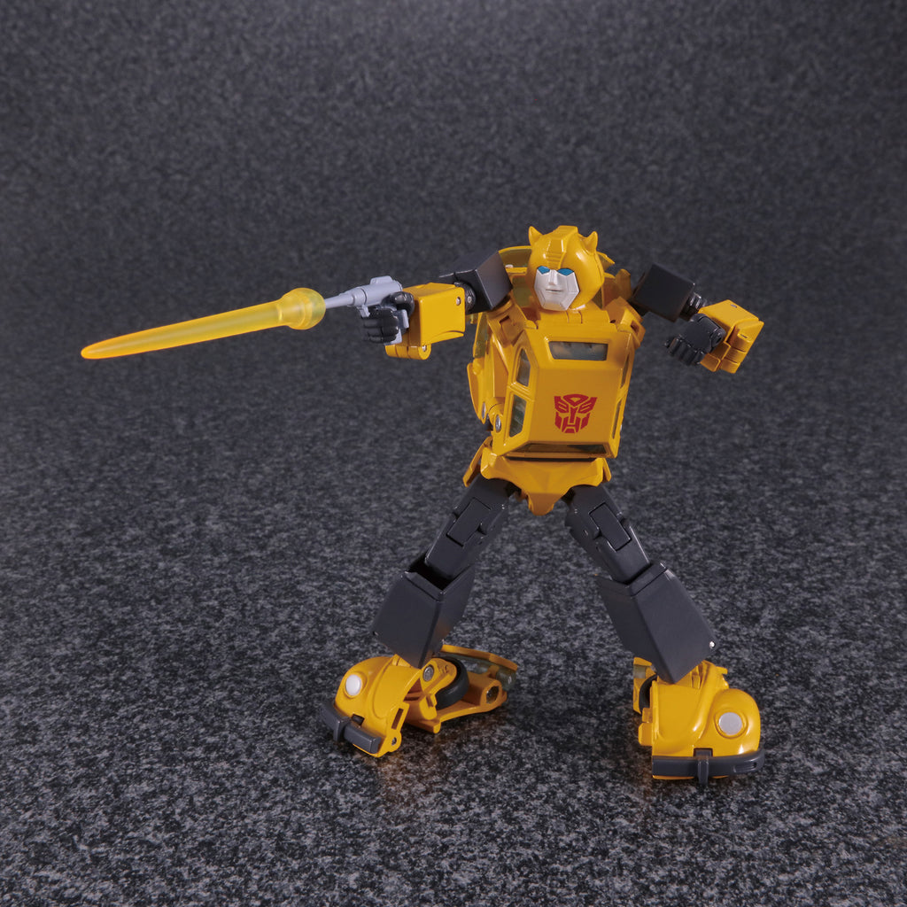 Transformers Masterpiece Edition MP-45 Bumblebee and Spike 2.0 Robot Mode
