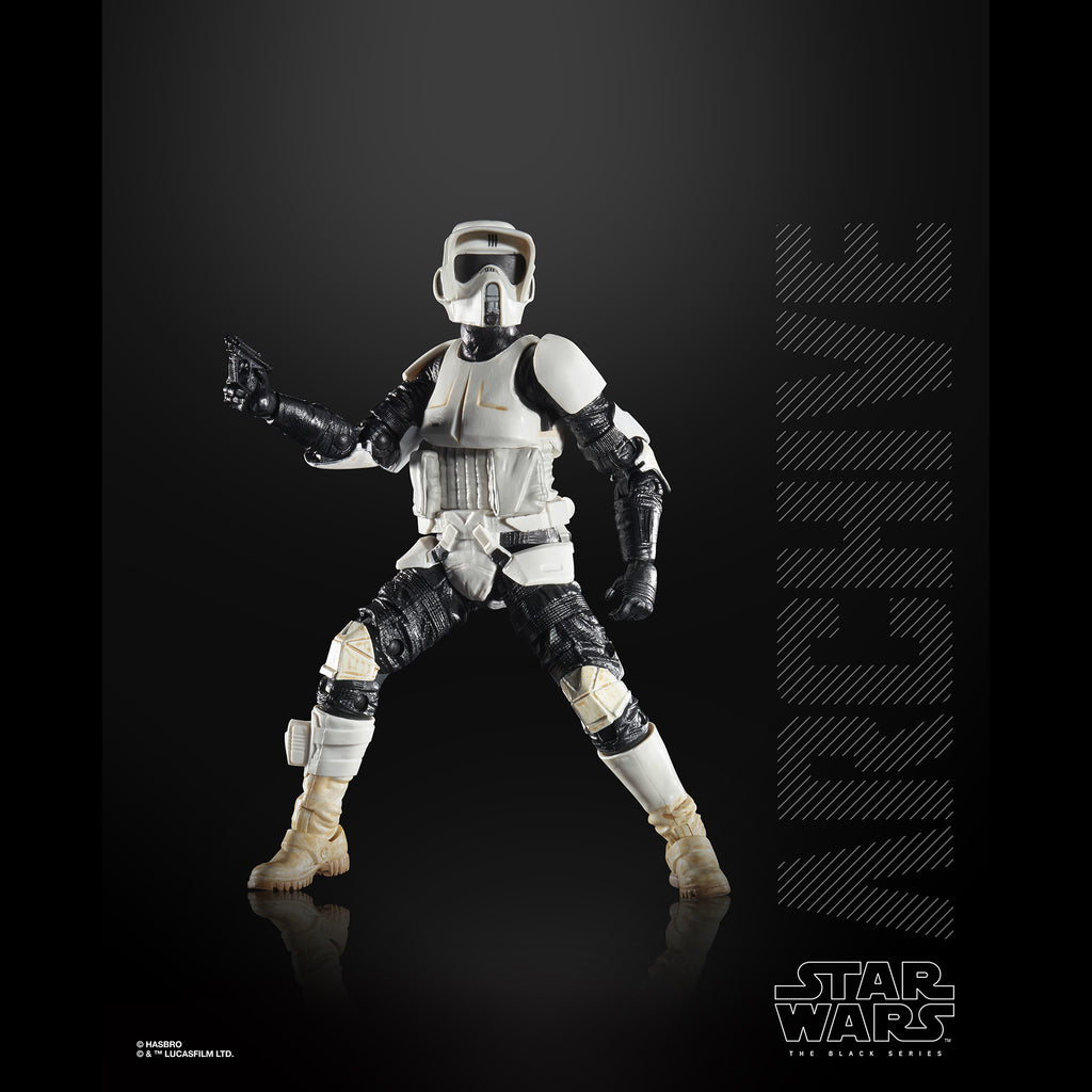Star Wars The Black Series Archive Biker Scout Figure