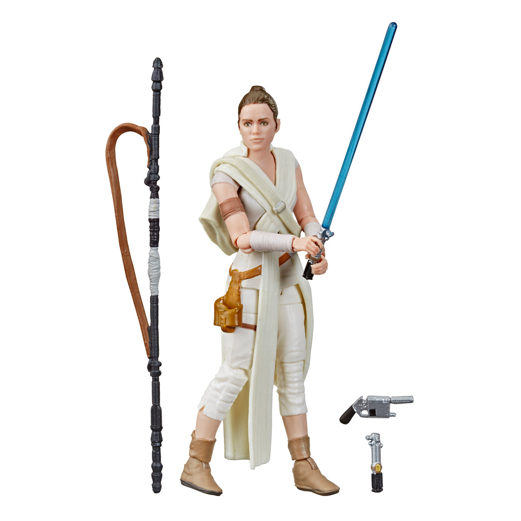 Star Wars The Vintage Collection Rey Figure and Accessories