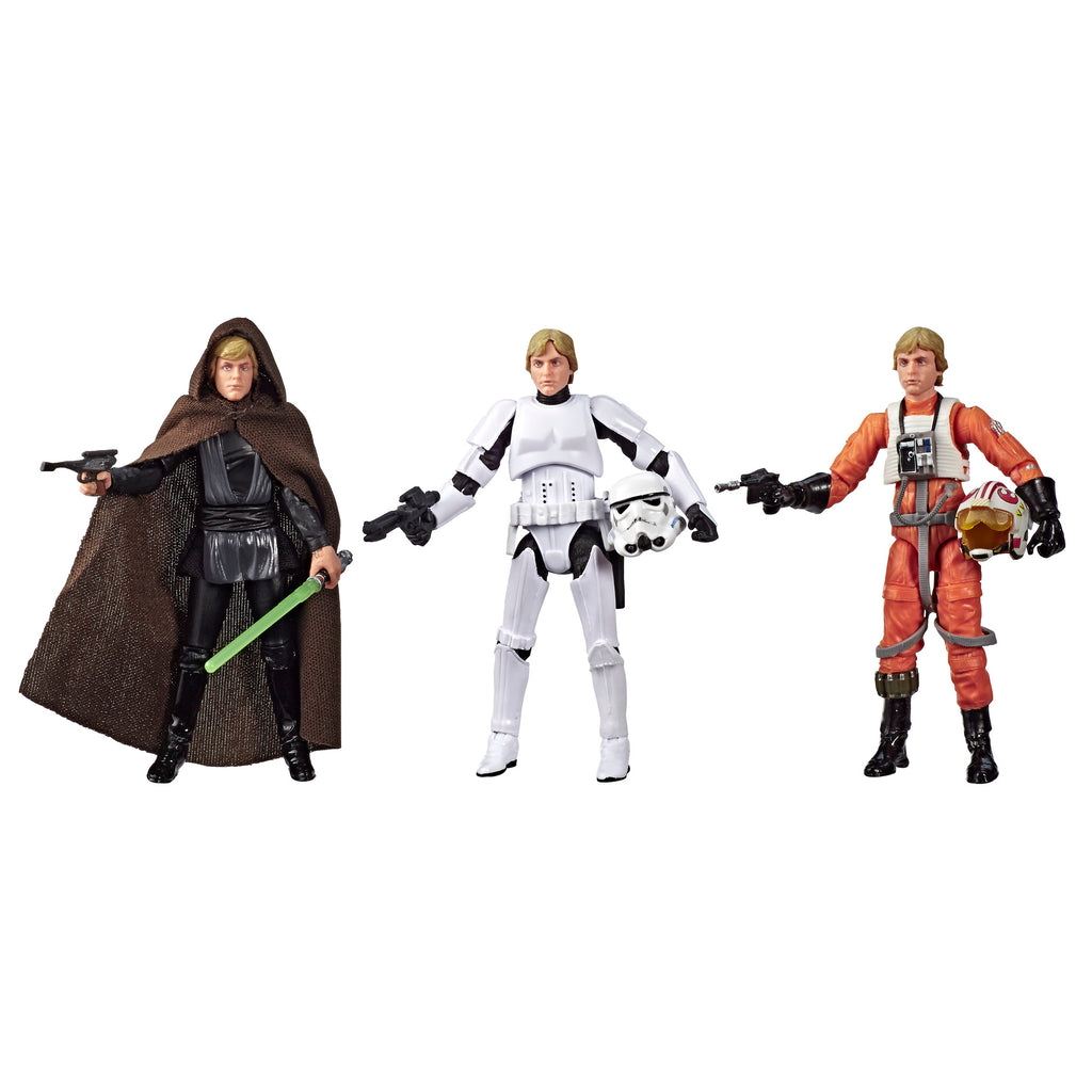 Star Wars The Vintage Collection Luke Skywalker Jedi Destiny Set