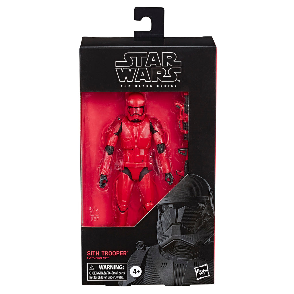 Hasbro Star Wars Black Series 6 Inch Red Box Edition