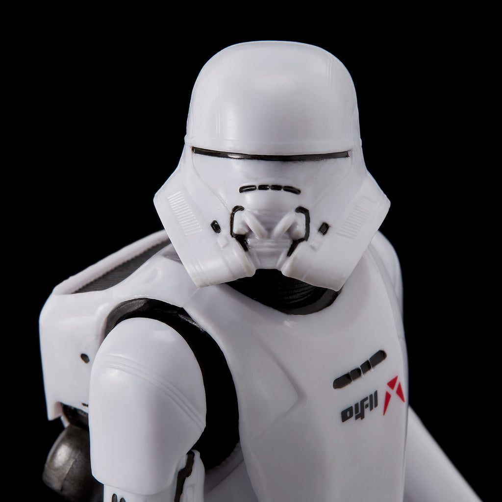 Star Wars The Black Series 6in First Order Jet Trooper Action Figure